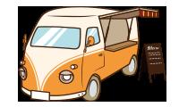 レンタカー キッチンカー